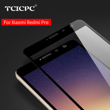 "Xiaomi Redmi PRO Tempered Glass 5.5"" full cover Screen Protector 9H Nano Coating Protective Film for Redmi PRO Red mi pro"