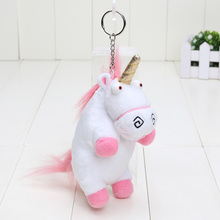 6'' 15cm Plush Toys Unicorn Plush keyring keychain pendant Soft Stuffed toys