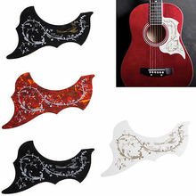 Guitar Accessories Acoustic Guitar Pickguard Hummingbird Scratch Plate Adhesive Background(China)