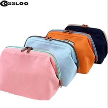 COSSLOO 2017 Hot Multifunction Fashion Travel Cosmetic Bag Makeup Bag Canvas Cosmetic Cases Storage Bag travel Toiletry Bag(China)