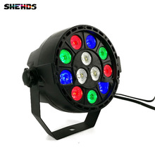 LED Par 12x3W RGBW LED Stage Light Par Light With DMX512 for disco DJ projector machine Party Decoration(China)