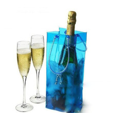 best nice Wine Beer Champagne Bucket Drink Ice Bag Bottle Cooler Chiller Foldable Carrier(China)