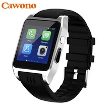 Cawono 3G Wifi X86 Bluetooth Smart Watch Android Relogio Sim Card Camera Celular Smartwatch Playstore for HUAWEI Redmi 4 VS DZ09