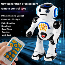KIDBE 1018A Intelligent brat New Generation of Intelligent Infrared Remote Control RC Robot Toys for Gifts
