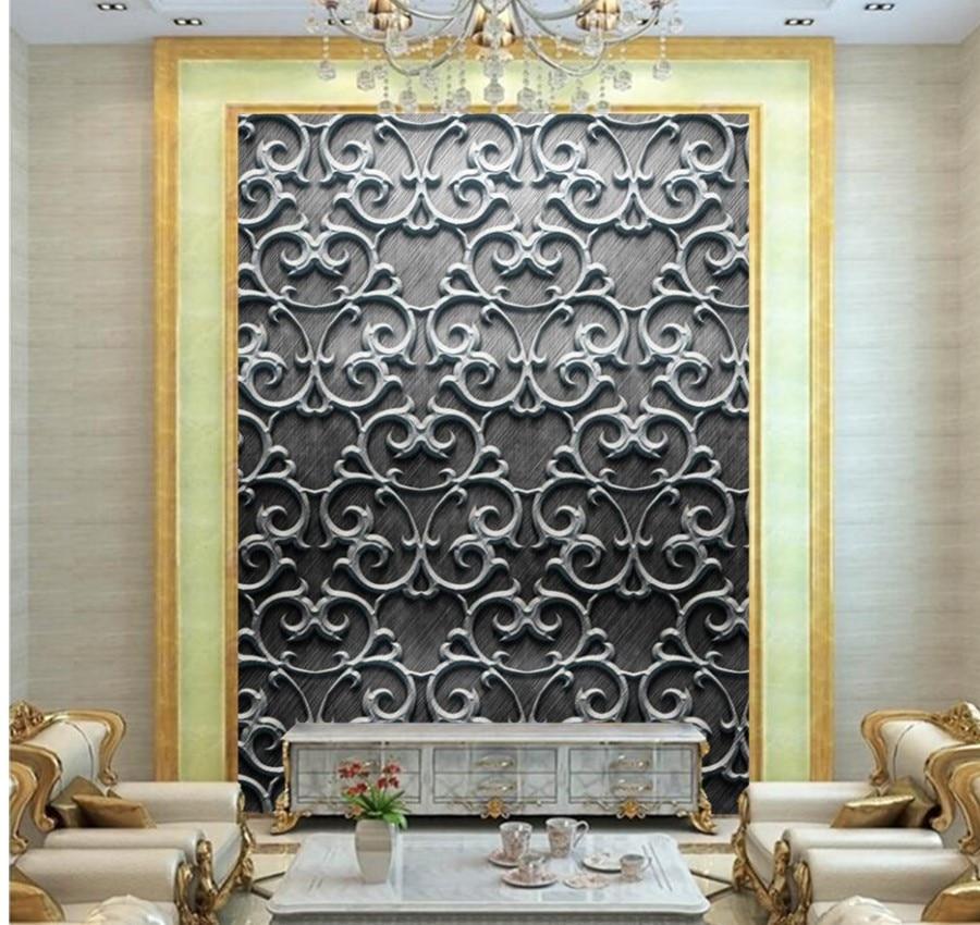 Custom large murals,Texture Tracery wallpapers papel de parede,bar coffee shop living room waterproof  3d embossed wallpaper<br>