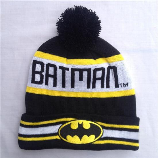 Hot! New Fashion Winter Warm Cap Women Embroidery Batman Beanies Hat Autumn Unisex Cotton Hip-hop Wool Knitted Hat Caps For MenÎäåæäà è àêñåññóàðû<br><br><br>Aliexpress