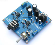 Free ship Headphone amplifier power PCB board diy kit Reference SOLO Design