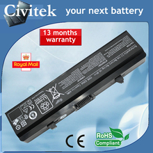 BATTERY for DELL INSPIRON 1545 1525 1526 GW252 RN873 RU586 X284G GW240 10.8V 48WH