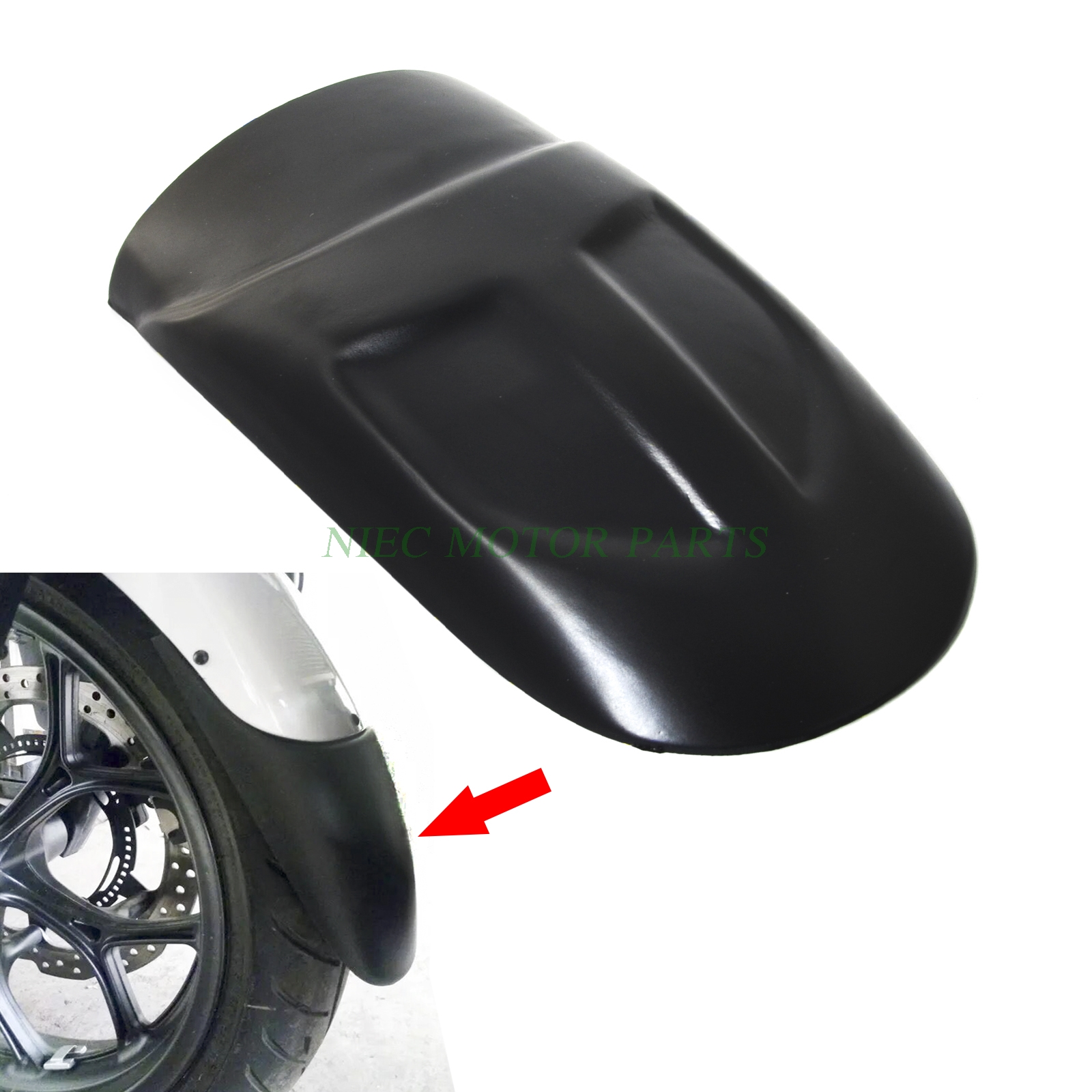 Motorcycle Front Fender Extension Extender For Yamaha MT09 FZ09 2014 2015 2016 MT FZ 09<br>