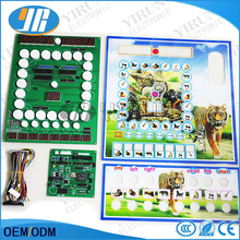 2017 New Casino game board slot PCB mario game board with acrylic and wiring harness(China)