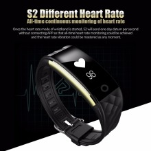 2017 Diggro S2 IP67 Wristband Bracelet Smart Heart Rate Monitor Fitness Tracker Touchpad OLED Strap In Stock pk xiaomi mi band 2