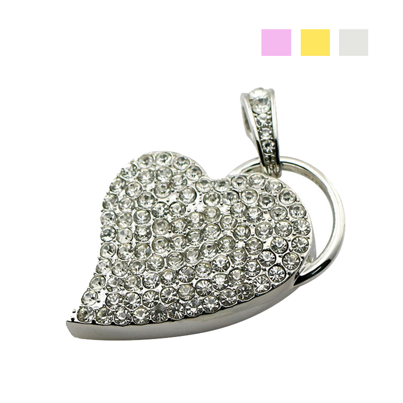 Cute Diamond Kitty Model USB 2.0 8GB-64GB Flash Drive Memory Stick Pendrive Gift