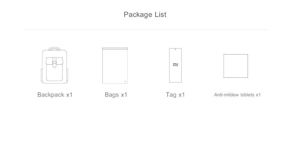 Xiaomi Fashion Commuting Waterproof backpack Removable Front Bag Big Capacity men backpacks travel backpack Laptop Bag male H0 (43)