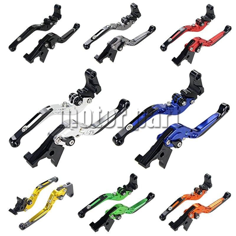 For 2007-2014 Aprilia Dorsoduro Shiver 750 SL750 SMV750 Motorbike CNC Folding Extending Brake Clutch Levers 08 09 10 11 12 13<br>