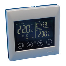 2p cool heat Touch Screen LCD Display 3 Speed Fan Coil Units Thermostat For Central Air(China)