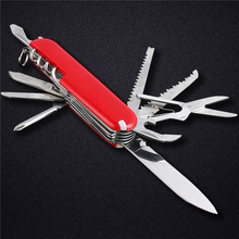 Doxa Hot Mini 11 in 1 Folding Knife Stainless Steel Small Pocket Knife Multi Funtional Knife Outdoor Tool(China)