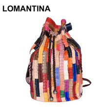 Korean Preppy Styles New Fashion 2017 Women Bags Leather Travel Bag Tote Backpack Woman