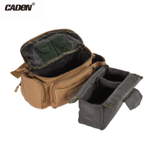 CADeN Camera Bag Canvas Handy Shoulder Bag Carrying Waist Bag Case DSLR Camera Bag for Sony Canon Nikon Cameras DV Outdoor Sport