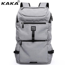 KAKA Hot Sale Europe United States Men's Backpacks Light Fashion Women Travel Bags 15.6 Inch Laptop Bag Brand School Bag A289