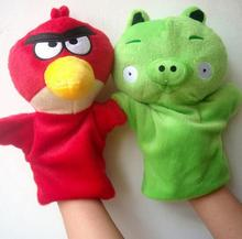 hand puppet children puzzle appease crazy bird pp cotton toys