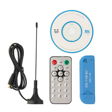 USB 2.0 Digital DVB-T SDR+DAB+FM HDTV TV Tuner Receiver Stick RTL2832U+R820T2 Drop Shipping