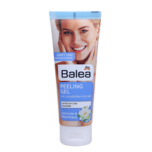 Balea Peeling-Gel Facial Scrub Gentle Skin Exfoliating Buff away dead skin Clear pores Remove excess oil deposits Refine skin(China)