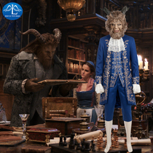 MANLUYUNXIAO New Movie Character Men's The Beauty And Beast Costume Halloween Prince/Beast Cosplay Costume For Men Custom Made