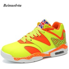 2017 New Basketball shoes for men Cheap Sports shoes High Cushion Breathable Basketball Sneakers 36-44