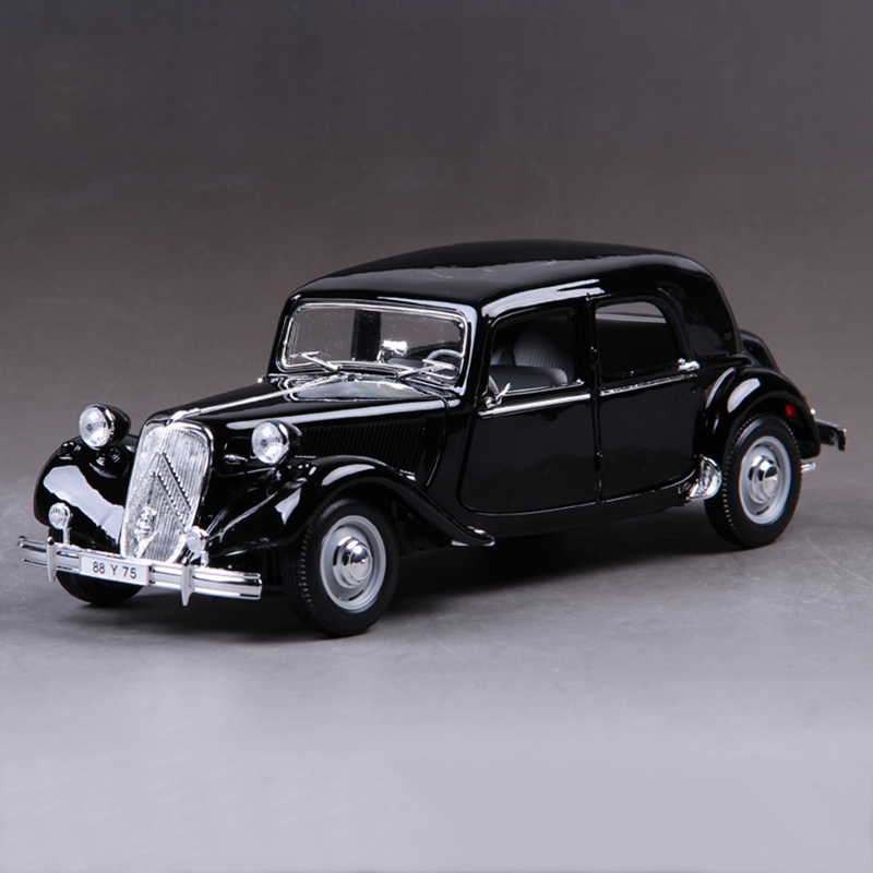 1:18 diecast Car France de Gaulle 15CV 6 Cyl (1952) 1:18 Alloy Car Metal Vehicle Collectible Models toys For Gift(China)