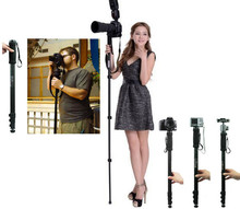 "171CM 67"" Professional Tripod Camera Monopod 1003 for Nikon D3200 D3100 D3000 D4 D80 D800 D7000 D5100 D5000 DSLR SLR Lightweight(China)"