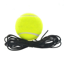 Belt line tennis training elastic rubber band ball tennis training tennis balls Y7(China)