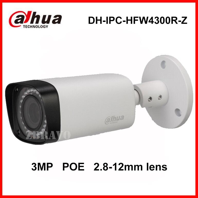 Dahua Digital IP 2.8-12mm varifocal motorized lens IPC-HFW4300R-Z network camera 3MP IP camera POE cctv camera english firmware<br><br>Aliexpress