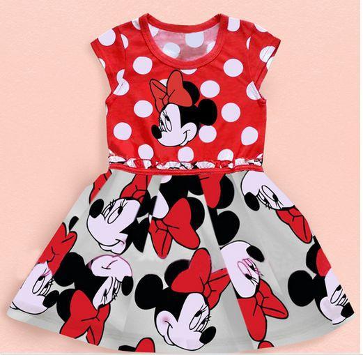 cute baby girl lace tutu minnie princess dresses pink 2017 summer style kids Children clothing vestido infantil meninas DY019B<br><br>Aliexpress