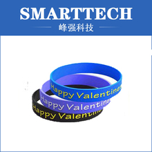 silicone rubber couple bracelet, silicone jewelry, rubber moulding