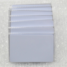 500pcs/lot nfc 1k S50 Blank card Thin pvc Card RFID 13.56MHz ISO14443A IC Smart Card Fudan Chips Waterproof