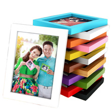 Wood Frame 6 inch 7 inch A4 Photo Frame Swing Picture Frame Display And Hanging Styles Supplied W $(China)