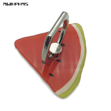 phone holder popsocket watermellon fruit acrylic metal finger ring stent 360 degree rotation mobile phone desk phone stand