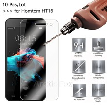 Buy 10 Pcs/Lot 2.5D 0.26mm 9H Premium Tempered Glass Homtom HT16 5.0inch Screen Protector protective film Homtom HT16 Pro for $9.55 in AliExpress store