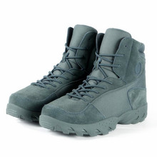 Men Warm Snow Boots Military Tactical Boots Desert Combat Outdoor boots Hiking Travel Shoes Martin boots