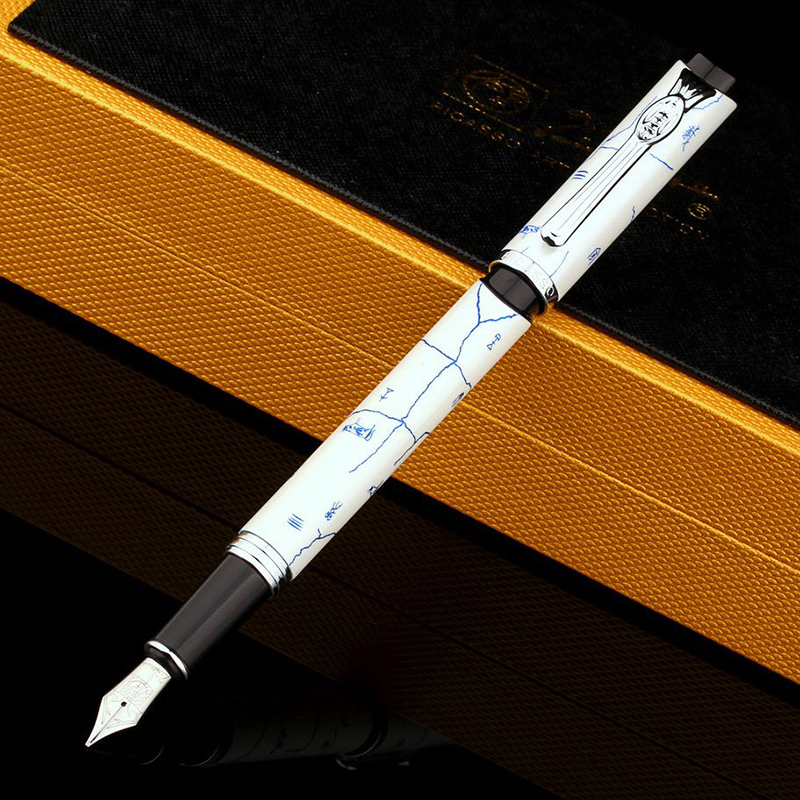 Pimio PS927 Ink Pens Valloli Oriental Antique Green St. Vic Business Gifts Men / Women Write Gift Pens<br>