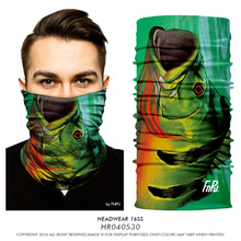 The ACME COLOR Men's scarf Headband Unisex Magic Scarves Seamless UV Protection Fabric Scarf Halloween The skull Scarves