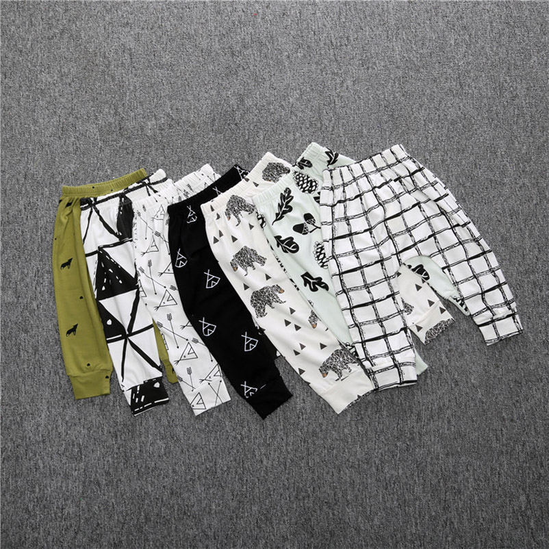 baby boy gril cross-pants ,bebes boy pants legging kids children trousers Leisure household pants YAA030