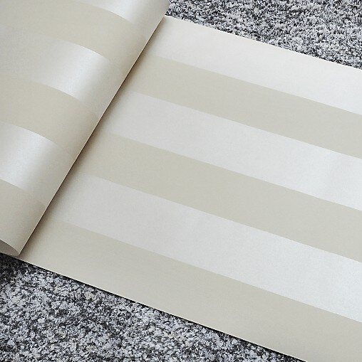papel de parede. Non-woven metallic glitter off white and silver wide stripe modern wallpaper background wall coverings wall pap<br><br>Aliexpress