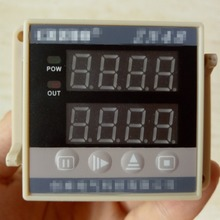 NPN PNP Sensor Switch Encoder Counter Digital Double Row LED Display Time Relay Counter with 10 terminals