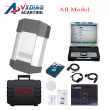 Vxdiag all model for Honda JLR VW for bmw icom a2 a3 star c4 toyota its3 for ford vcm tech2 Diagnostic Tool with laptop(China)