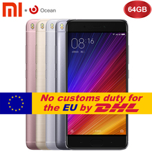 "Buy Original Xiaomi Mi5s Mi 5S 3GB RAM 64GB ROM Smartphone Snapdragon 821 Quad Core 5.15""Inch Mobile Phone Ultrasonic Fingerprint ID for $254.98 in AliExpress store"
