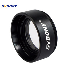 "SVBONY 1.25"" Focal Reducer X 0.5 Astronomical Telescope Thread M28x0.6 for Astronomy Monocular Telescope Eyepiece F9115"
