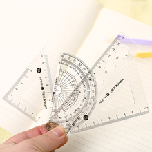 Ruler set ruler triangle ruler FOUR piece set student supplies set material escolar