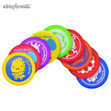 Abbyfrank 20cm Soft Ultimate Frisbee Professional Disc Flying Saucer Colorful Animal Men Women Kid Outdoor Sports Game Play Toy(China)