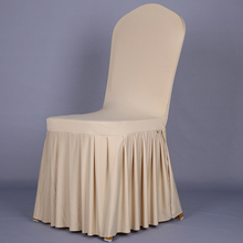 Home Chair Cover Polyester Spandex Dining Chair Covers For Wedding Party Chair Cover Brown Dining Chair Seat Covers Hot Sales(China)